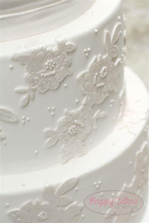 Lace Applique by Lace Applique Wedding Cake Cakecentral