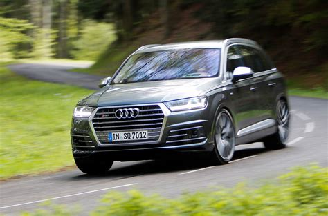Audi Sq 7 by 2016 Audi Sq7 Review Review Autocar