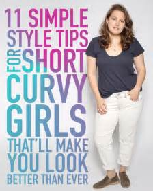 11 simple style tips for short curvy girls that ll make you look