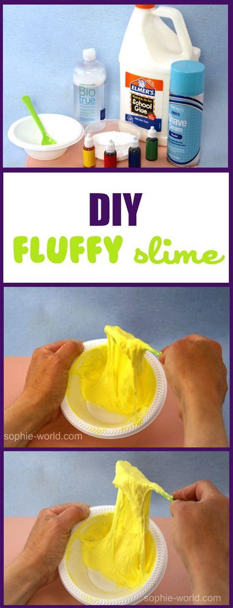tutorial slime foam best 25 diy slime ideas on pinterest fluffy slime