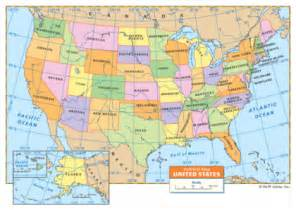 united states map with latitude and longitude