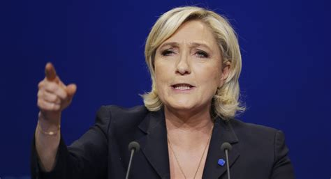 marine le pen trump expresses support for french candidate le pen politico
