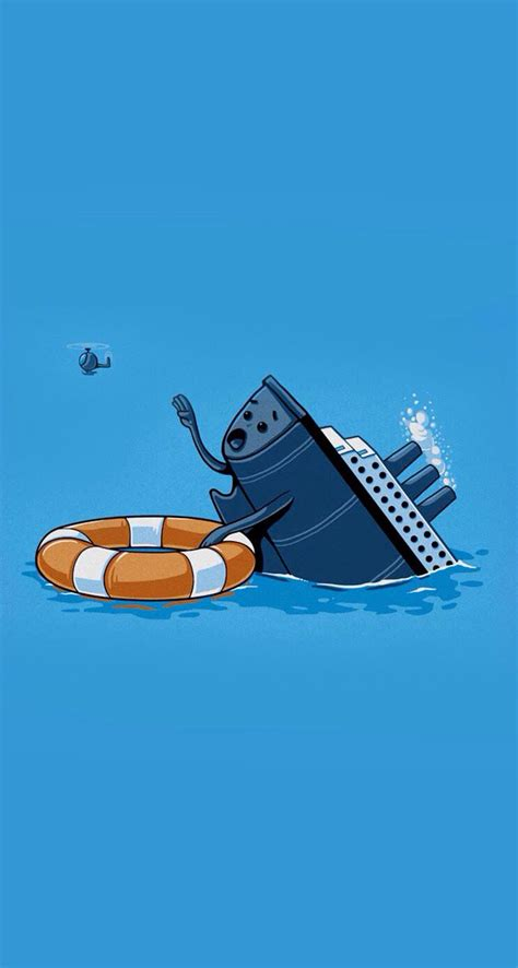 sinking boat cartoon sinking ship cute cartoon drawings pinterest