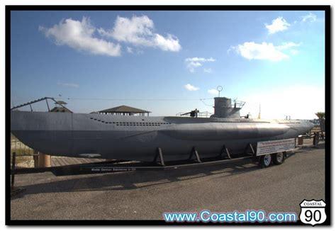 u boat on display u 166 u boat submarine model on display on biloxi beach