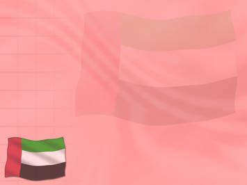 powerpoint templates uae united arab emirates uae flag 03 powerpoint templates