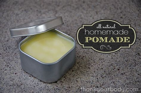 Pomade Beeswax pomade all for beautiful hair