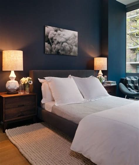 gray and navy blue bedroom 25 best ideas about dark blue bedrooms on pinterest