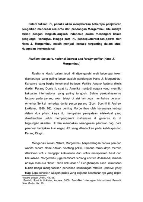 Pengantar Studi Hubungan Internasional By Sorensen essay posisi luar negeri indonesia dalam kasus pengungsi