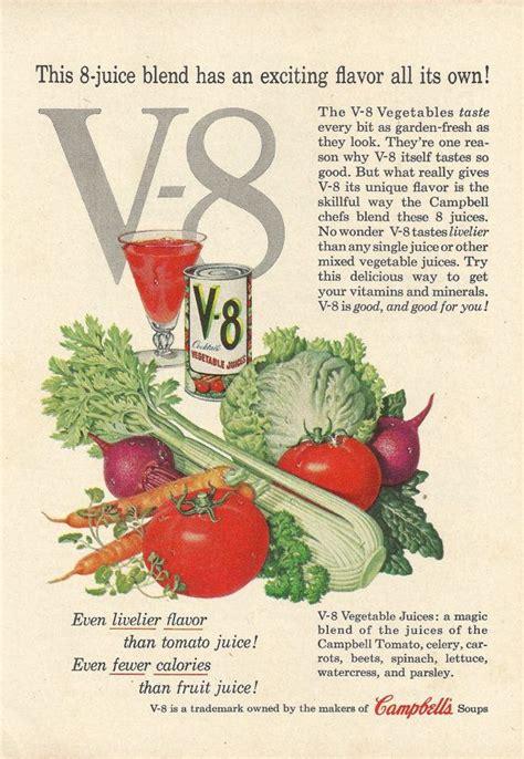 v 8 vegetables 70 best images about v8 on rhonda fleming