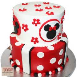 1538 2 layer minnie mouse cake abc cake shop amp bakery