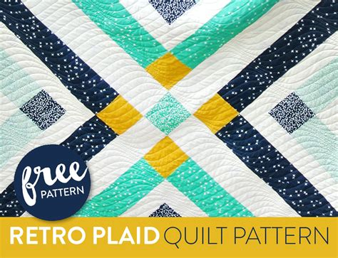 quilt pattern maker free retro plaid free quilt pattern suzy quilts