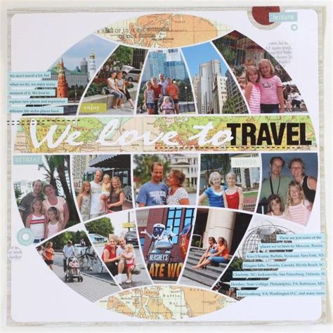 scrapbook layout travel 895 best images about scrapbook page ideas on pinterest