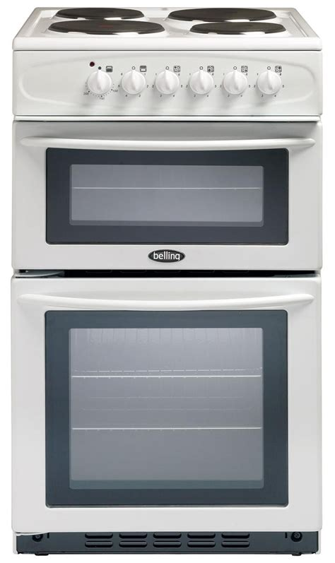 Oven Oxone 4 In 1 belling 335 50cm white electric oven with separate grill and electric hob
