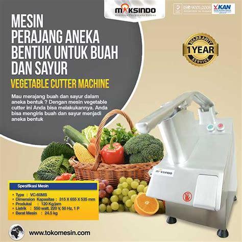 Fruit And Vegetable Cutter Vgc J23b Mesin Pemotong Buah Dan Sayuran mesin perajang sayur buah fruit vegetable cutter toko mesin maksindo toko mesin maksindo