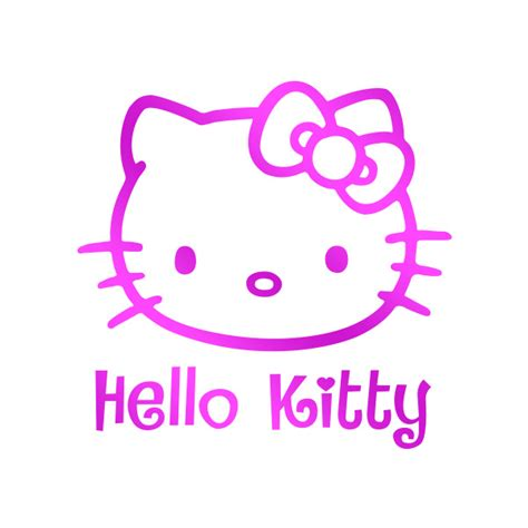 Hello Kitty Wall Stickers Large stickers hello kitty geant palzon com
