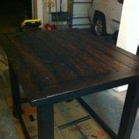 Diy Breakfast Bar Table Thousands Of Ideas About Bar Height Table On Pinterest Patio Dining Reclaimed Wood Bars And