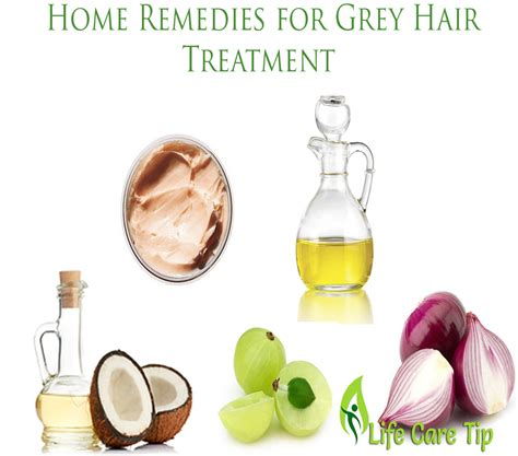 home remedies for grey hair treatment