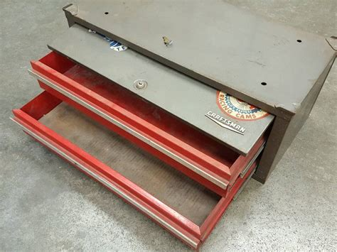 tool box middle section good old series craftsman tool box mid section 3 drawers