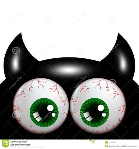 imagenes de ojos halloween monstruo de halloween con los ojos verdes con el lugar