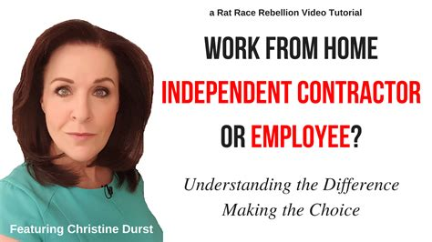 Independent Contractor Background Check Work From Home Independent Contractor Vs Employee