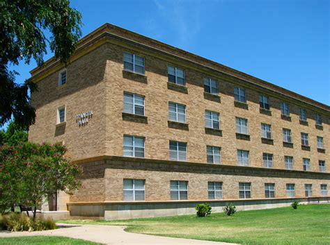 ttu housing texas tech university university student housing stangel murdough complex