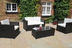 black rattan garden furniture wicker patio furniture