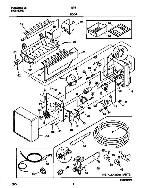 frigidaire maker diagram 28 images maker diagram parts