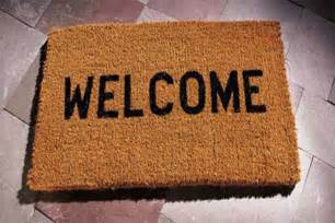 Welcome Mat Welcome To Our New Home Welcome To Our New