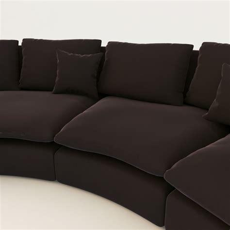 ben sofa arflex ben ben sofa 3d model max obj fbx cgtrader com