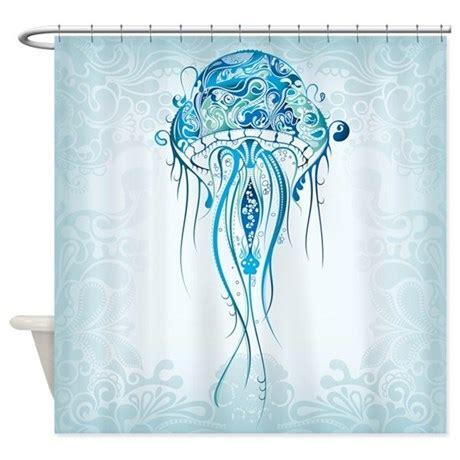 jellyfish bathroom beautiful jellyfish shower curtain by bestshowercurtains