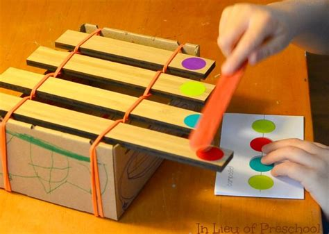 How To Make Handmade Musical Instruments - xylophone craft great musical