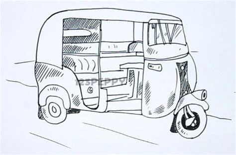 auto draw the gallery for gt rickshaw drawing