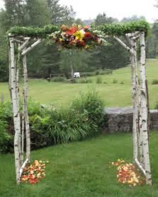 rustic wedding arbor vermont lurrrrrrve