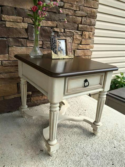 chalkboard paint end table best 25 refinished end tables ideas on