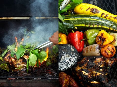 Backyard Bbq Jamaica Goldeneye Hotel Resort Dining Options Bizot Bar The