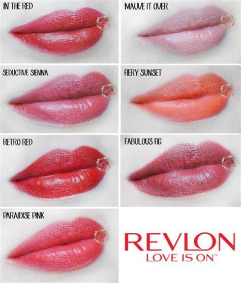 Warna Lipstik Revlon Dan Harga 16 warna lipstik revlon terbaik daftar harga lipstik terbaru