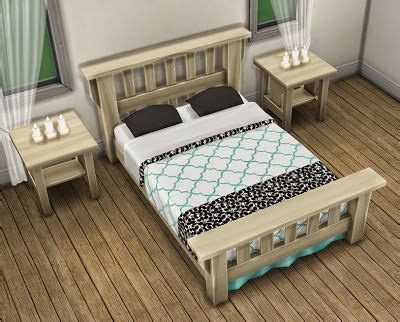 sims  blog  single mission bed recolors  saudadesims  sims  blog sims  bedroom