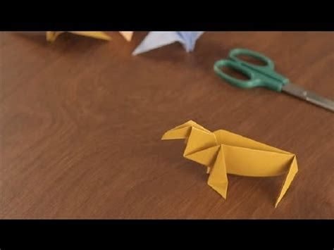 Origami Walrus - how to make an origami walrus simple origami