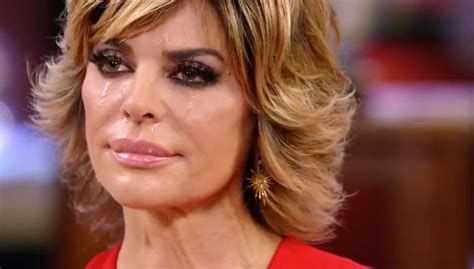 back view of nina rinna hair rhobh reunion lisa rinna walks off in tears i don t
