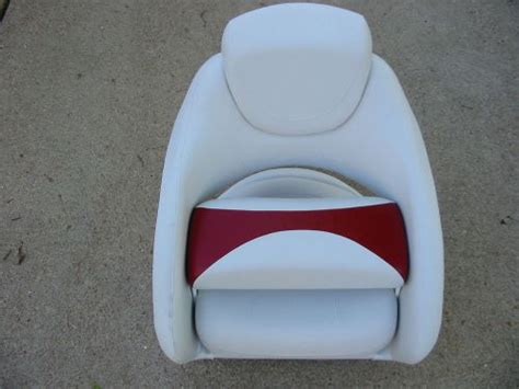 crownline boat oem parts purchase nos oem crownline boat flip up bucket seat white