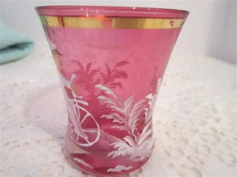 Cranberry Gregory Glass Bidadari 16274 gregory glass cranberry colored tumbler something wonderful ruby