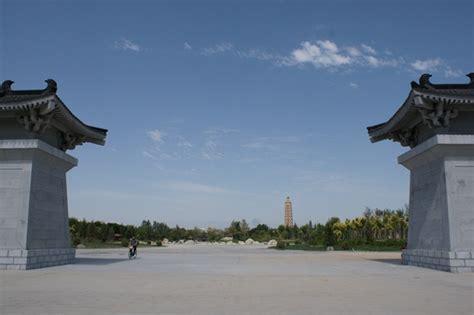 ta chuan the great 0312264283 yinchuan landmarks monuments hotspots sea treasure temple pagoda haibao ta
