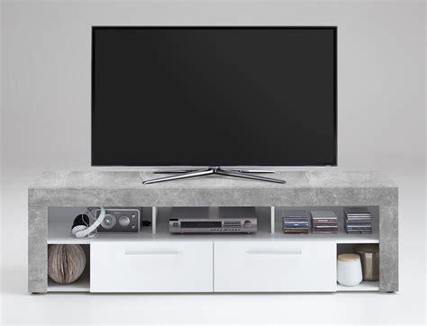 tv board beton tv lowboard tv board multimedia lowboard in beton dekor