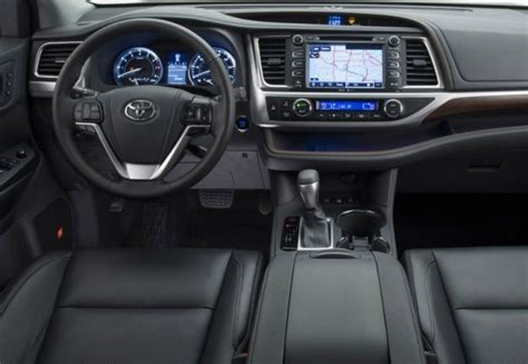 toyota highlander 2016 interior 2016 toyota highlander release date and review hybrid