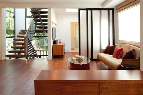 glass door designs for living room 25 nifty space saving room dividers for the living room