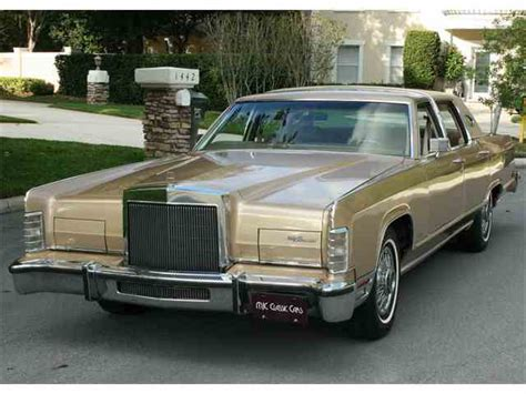 classic lincoln town car for sale on classiccars 36