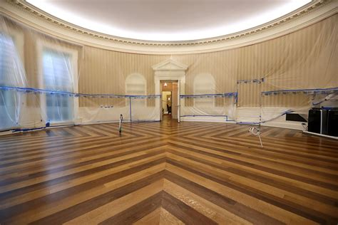 white house renovation photos the white house west wing renovation revealed in six photos curbed dc