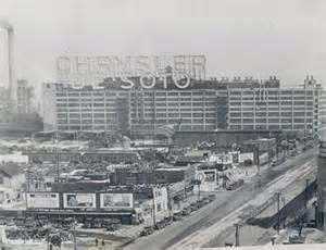 Chrysler Detroit Plant Abandoned East Jefferson Avenue Chrysler Desoto Plant