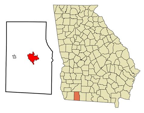 Grady County Records File Grady County Incorporated And Unincorporated Areas Cairo Highlighted Svg