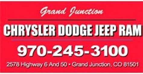Grand Junction Chrysler Jeep Dodge Used Grand Junction Chrysler Jeep Dodge Grand Junction Co